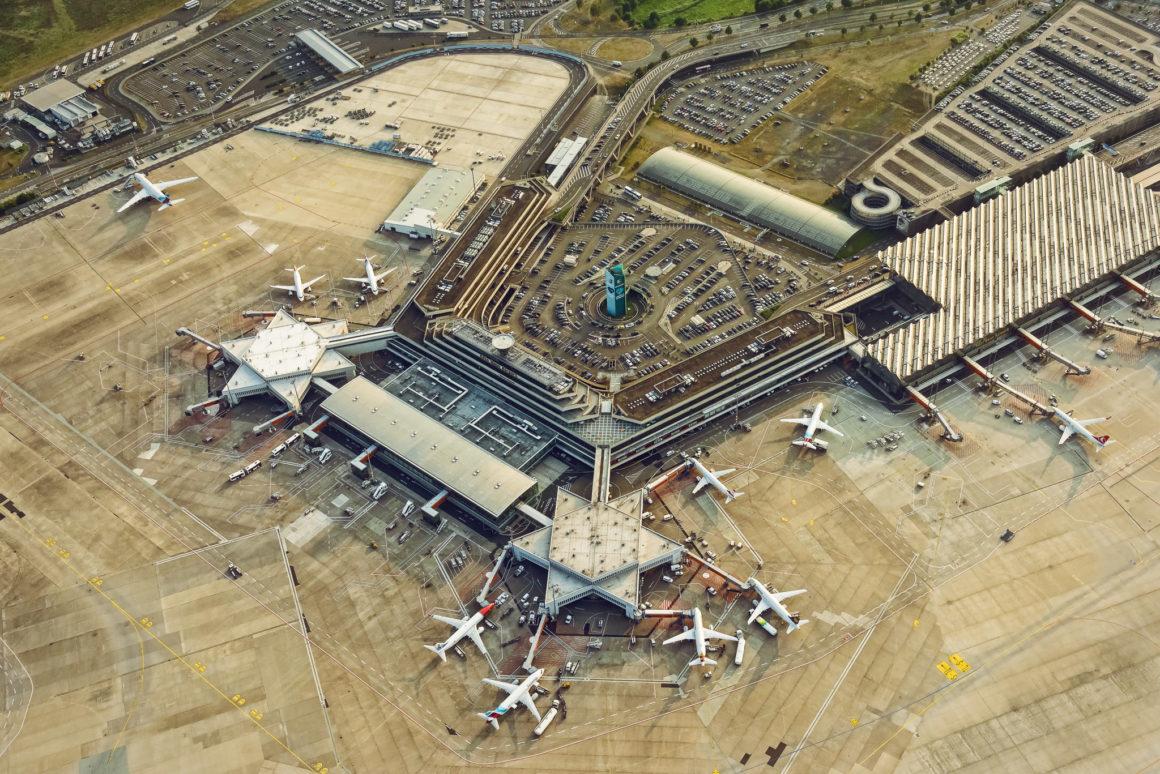 Luftaufnahme Köln-Bonn Terminal 1
