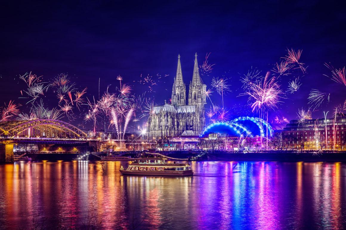 Silvester in Köln 2016
