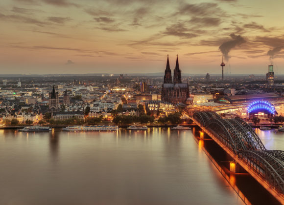 Köln Skyline Panorama