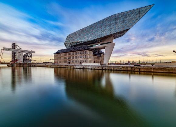 Antwerpen – Zaha-Hadid-Hafenhaus