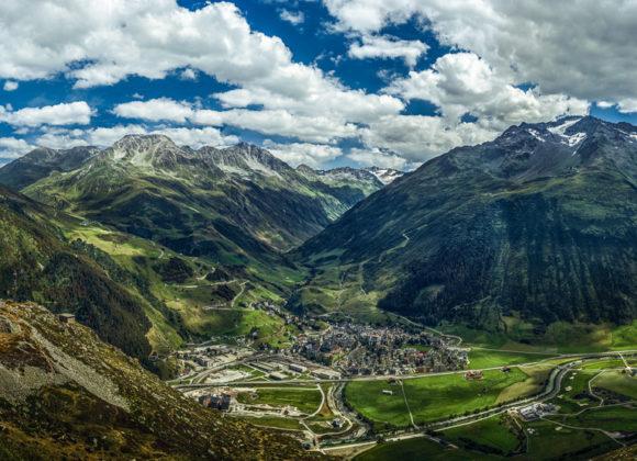Gotthardmassiv-Panorama