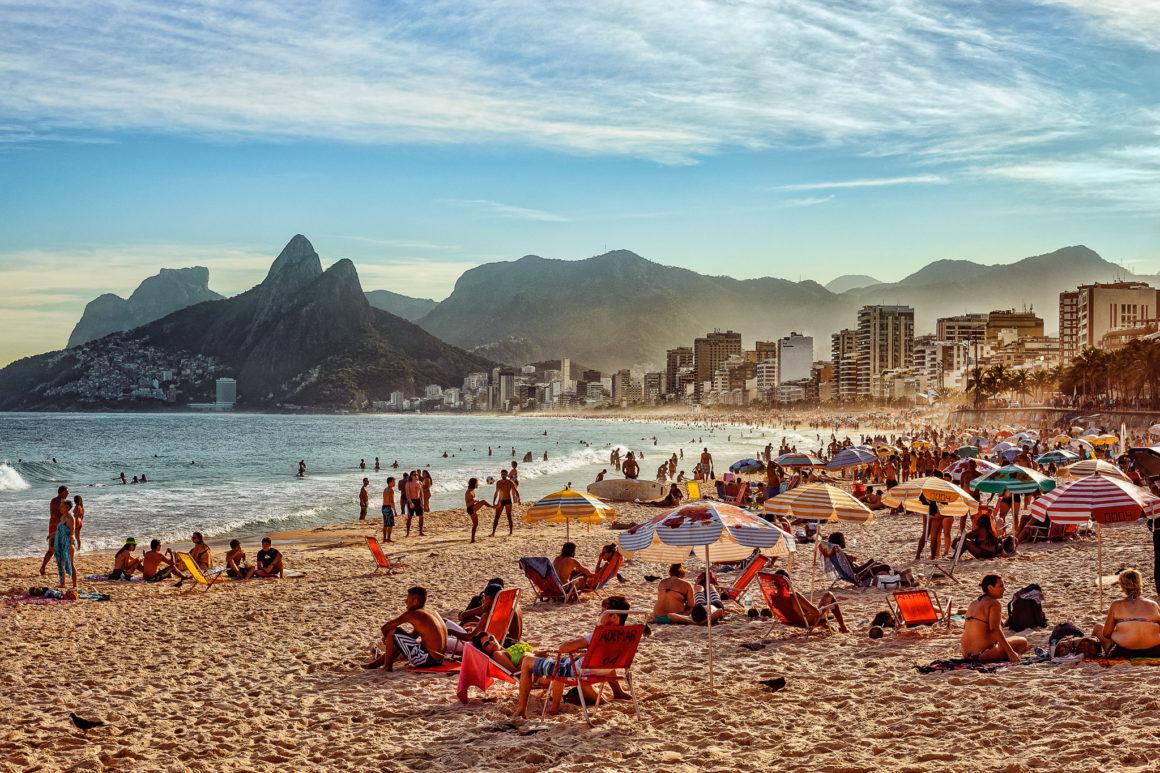 Rio de Janeiro – Strand von Ipanema