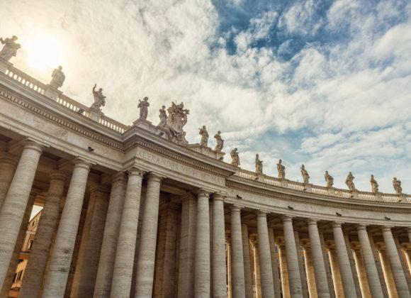Rom – Petersplatz-Kolonaden