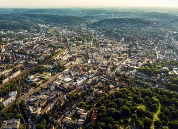 Wuppertal Luftaufnahme