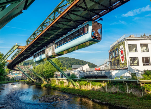 Wuppertaler Schwebebahn GTW-15 Elba