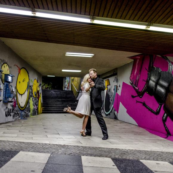 Tango-Ästhetik im alten Hauptbahnhof Wuppertal